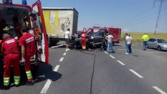 Accident cu mai multe victime, în Vaslui. S-a activat Planul Roșu