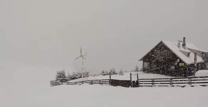 Ninge ca în poveşti. Locul din România unde totul a devenit alb VIDEO