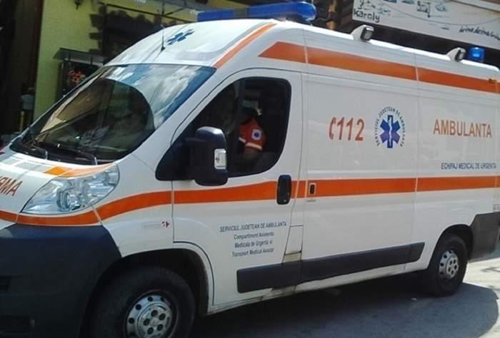 Accident tragic în Bistrița! O femeie se află în comă profundă după ce a fost spulberată de o maşină