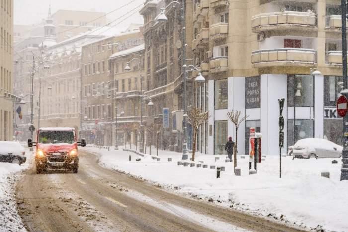 Vremea în București, joi, 6 februarie. Gata cu precipitațiile, dar vine gerul