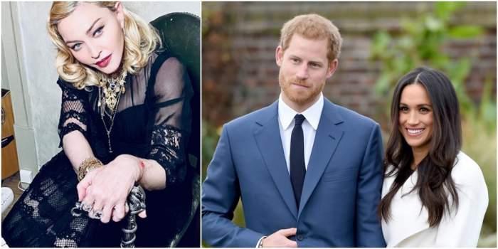 Madonna, gest fără precedent pentru Meghan Markle și prințul Harry. Ce le-a oferit