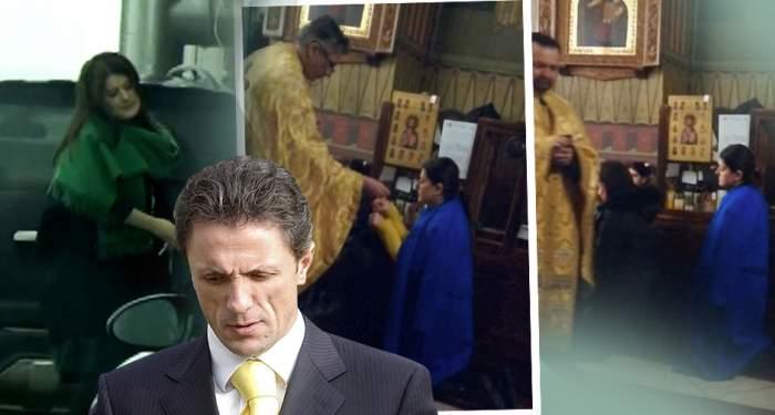 """Drama din familie a lăsat urme! Cât de mult au schimbat-o anii grei de puşcarie ai """"Baciului""""! Aşa a fost surprinsă soţia lui Gică Popescu, în biserică / VIDEO PAPARAZZI"""
