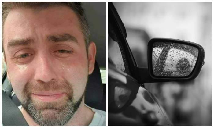 Un tânăr tată, îngropat în datorii, s-a pozat plângând în mașină, înainte de a se sinucide. Sfâșietor ce a scris în biletul de adio