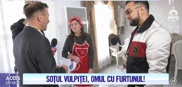 """VIDEO / Viorel, criză de gelozie în casa lui Tzancă Uraganu. """"I-ai făcut semn pe gât"""""""