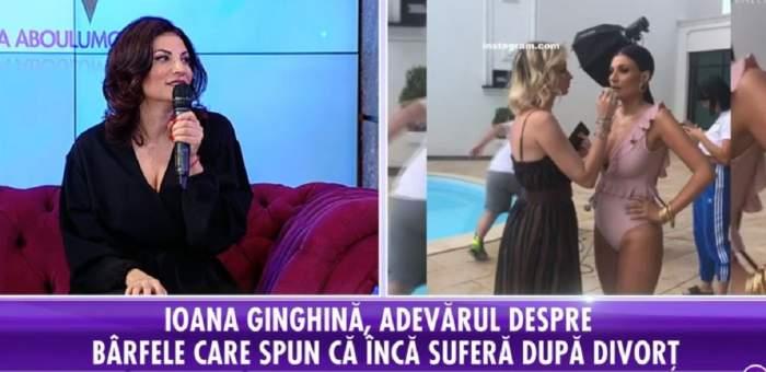 """VIDEO / Ioana Ginghină, totul despre viitoarea relaţie. Vedeta a dezvăluit dacă s-ar mai întoarce sau nu la fostul soţ: """"Niciodată nu mai zic niciodată"""""""