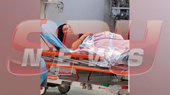 Daniela Crudu nu vrea să depună plângere împotriva iubitului, după ce a fost băgată în spital