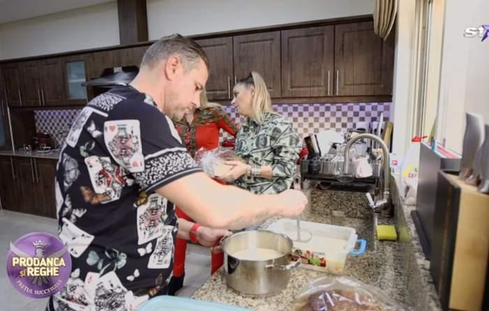 VIDEO / De la viață de lux, la muncă de jos. Anamaria Prodan nu se dă înapoi când vine vorba despre treburile casnice