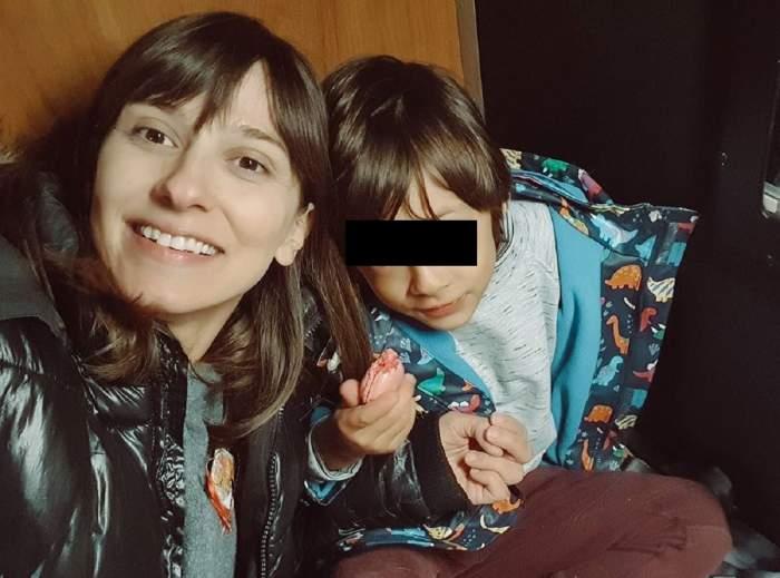 FOTO / Fiul Danei Rogoz împlineşte astăzi şase ani. Ce mesaj emoţionant i-a transmis actriţa