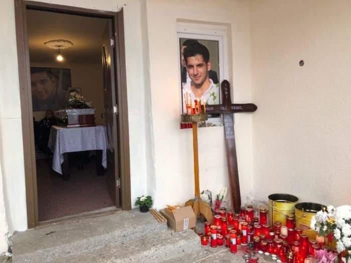 Imaginile durerii! Tânărul ucis în atacul armat din Germania a fost înmormântat