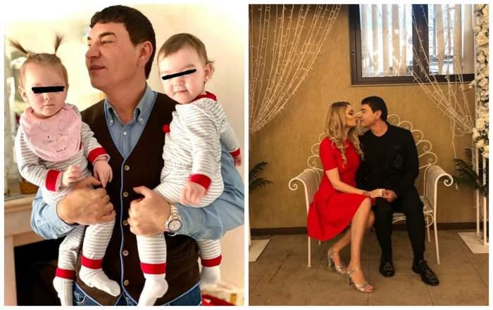 Gemenele lui Cristi Borcea seamănă leit cu tatăl lor! Mesajul Valentinei Pelinel de ziua micuțelor