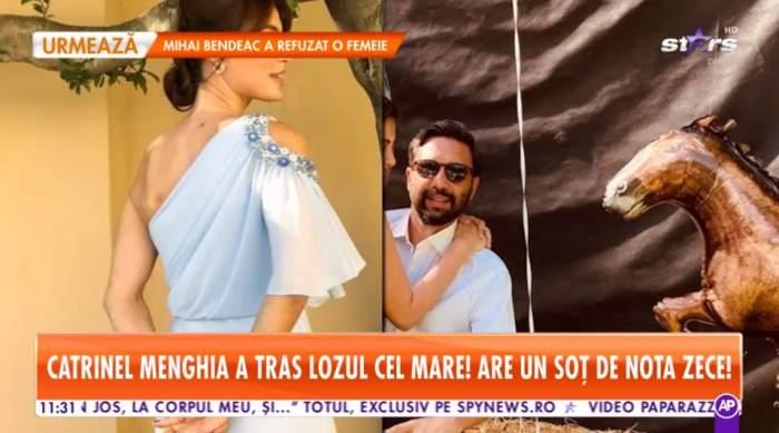 Catrinel Menghia a tras lozul cel mare! Soțul o răsfață așa cum orice femeie și-ar dori / VIDEO