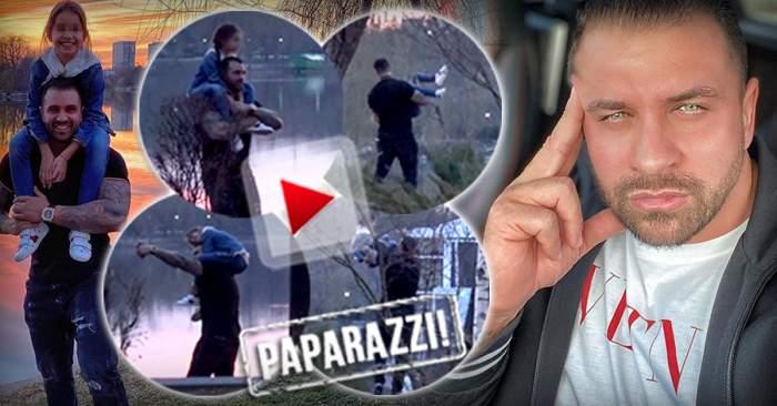 VIDEO PAPARAZZI / A lăsat totul deoparte pentru zâmbetul fiicei lui. Alex Bodi, cel mai grijuliu tată. Momente nepreţuite între cei doi
