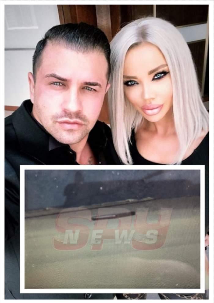 Scene şocante la notar! Bianca Drăguşanu i-a aruncat telefonul pe geam lui Alex Bodi, iar el i l-a spart / VIDEO EXCLUSIV