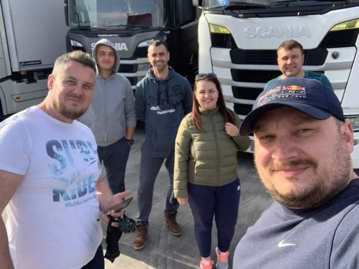 """Şoferii români de TIR nu vor să se întoarcă în ţară: """"Nu vrem să fim priviţi ca nişte leproşi pentru că venim din Italia"""""""