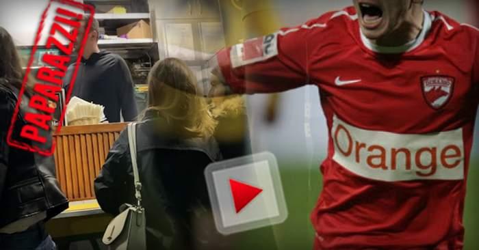 PAPARAZZI / Fostul lui Dinamo s-a lăsat de învârtit mingea, iar acum învârte... chifla! A uitat de fotbal și, mai nou, se ocupă cu de-ale gurii