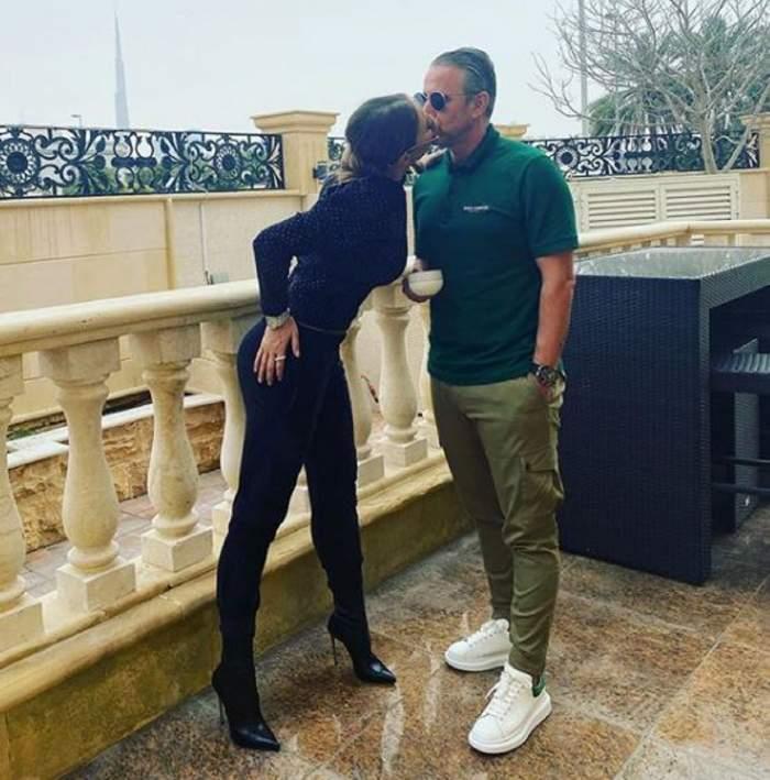 Anamaria Prodan și Laurențiu Reghecampf, sărut pasional! Cât de mult se iubesc cei doi