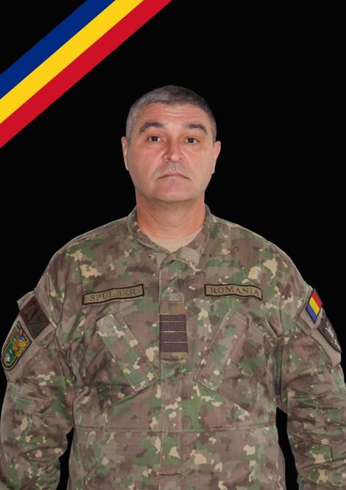 "Militar român din Kandahar, mort în Germania: ""Drum lin către cer, veterane!"""