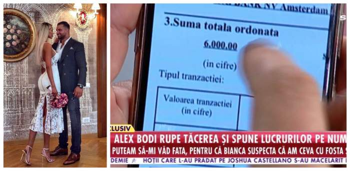 VIDEO / Bodi a arătat dovada. Susține că i-a plătit 6.000 de eurosă nu spună că a fost bătută! Reacția imediată a Biancăi Drăgușanu
