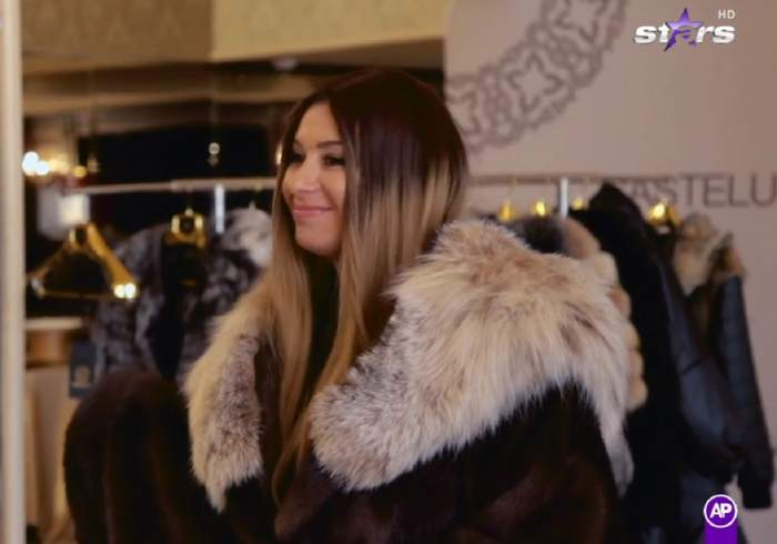 Anamaria Prodan, ședință foto de lux în blănuri de zeci de mii de euro! Impresara a primit un cadou inedit / VIDEO