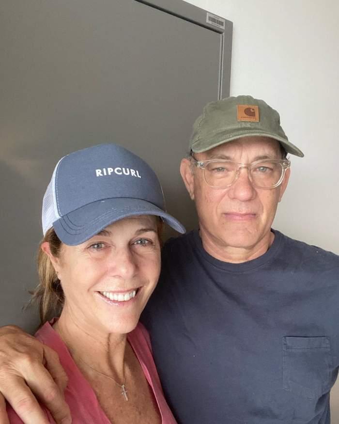 Tom Hanks și soția lui, Rita Wilson, externați. Care este starea lor, după ce au fost diagnosticați cu coronavirus