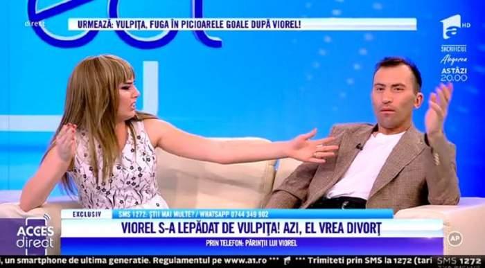 """VIDEO / Veronica, bătută de propriul tată? Declarațiile șocante ale socrului: """"A fost dusă la spital"""" Vulpița a izbucnit în lacrimi"""