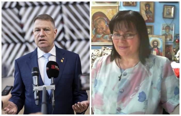 """""""Klaus Iohannis a încetat activitatea!"""" Anunțul făcut de clarvăzătoarea Maria Ghiorghiu"""