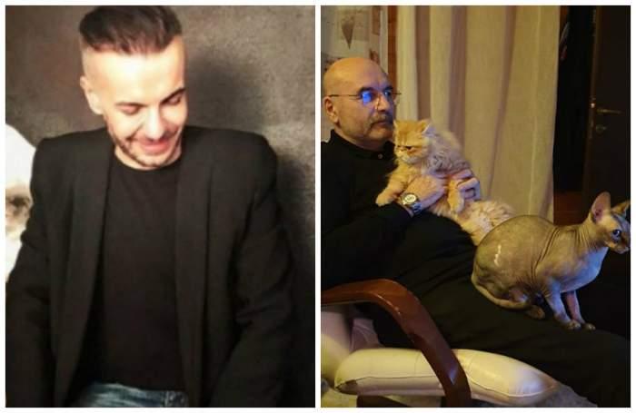 Pisica lui Răzvan Ciobanu a rămas să le aline durerea părinților. Imagine tristă cu tatăl creatorului