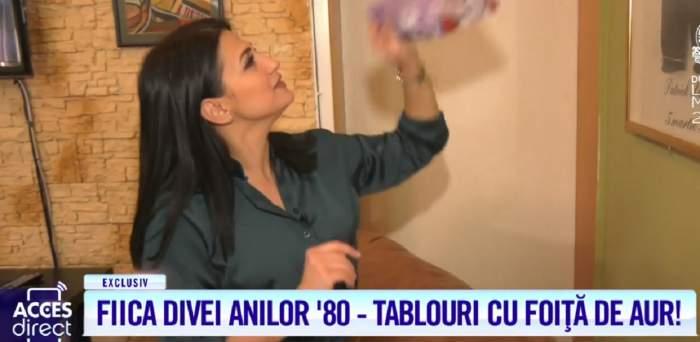 """Fiica celebrei Emilia Dițu a deschis uşa """"casei acordurilor""""! Aşa arată locuinţa Andreei Petricean / VIDEO"""