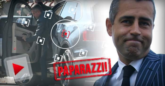 VIDEO PAPARAZZI / Remus Truică, aroganţă maximă pe străzile Capitalei. Ce a făcut milionarul după ce a coborât din bolidul 300.000 de euro