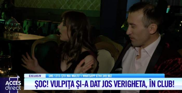 Scandal cu palme şi lacrimi între vulpiţa şi Viorel! Veronica şi-a scos verigheta de pe deget / VIDEO