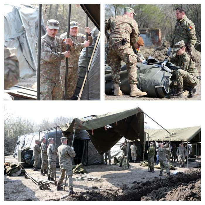 MApN a făcut anunțul! În ce stadiu sunt lucrările la spitalul ridicat de Armata Română în Otopeni
