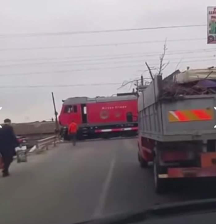 Constanța. Un mecanic a oprit trenul ca să-și ia cafea / VIDEO