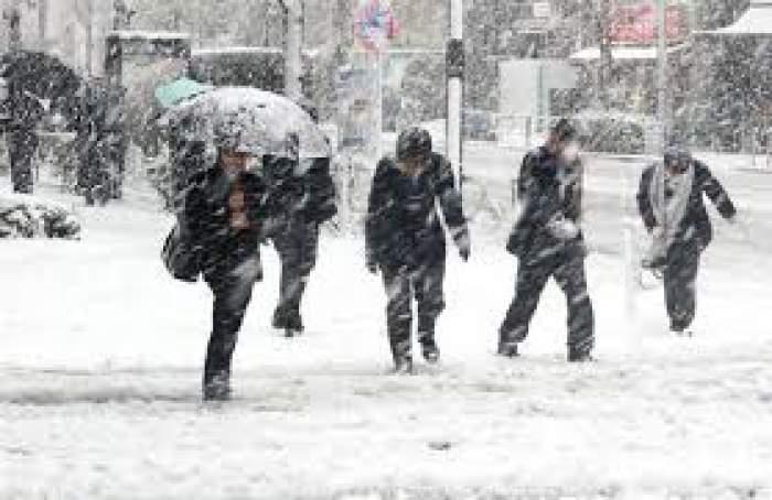 Vremea în Capitală. Bucureștenii vor avea parte de 3 zile cu ninsori și temperaturi scăzute