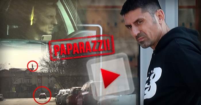 VIDEO PAPARAZZI/ EXCLUSIV / Gest disperat făcut de Ionel Dănciulescu! A fost filmat în timp ce încălca legea pentru sănătate