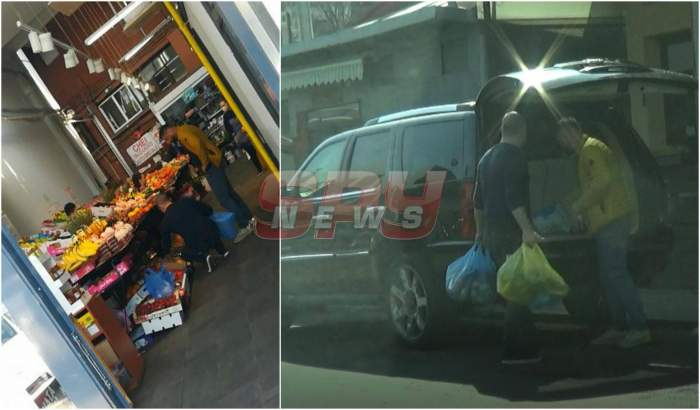 VIDEO PAPARAZZI / Lui Nelu Iordache nu îi este frică de coronavirus. Surprins la piață fără mască și fără mânuși de protecție