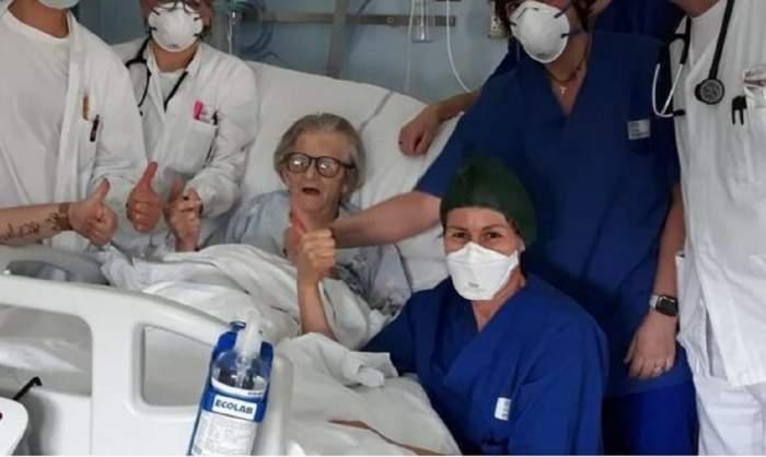 """O rază de speranță! În Italia, o bătrânică de 95 de ani """"a dovedit"""" coronavirusul"""