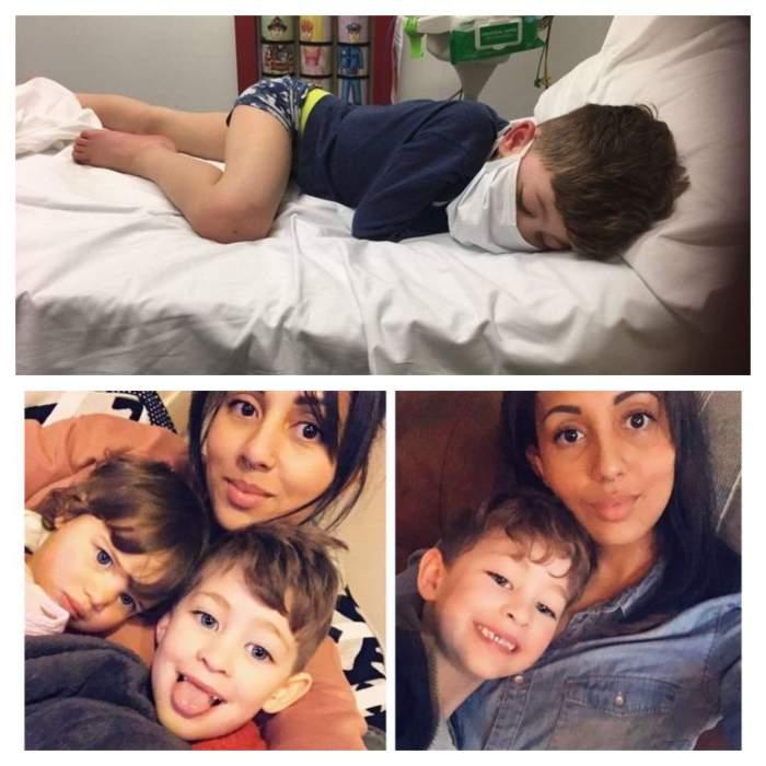 """Un băiețel de 5 ani, infectat cu coronavirus, se întreabă dacă va muri! Mama lui este disperată: """"Mi-a fost frântă inima"""""""