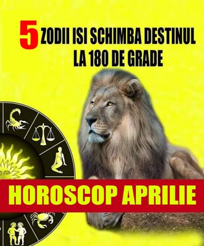 Schimbări mari pentru aceste zodii în luna aprilie