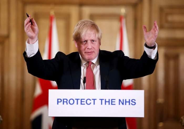 Boris Johnson a fost testat pozitiv la COVID-19