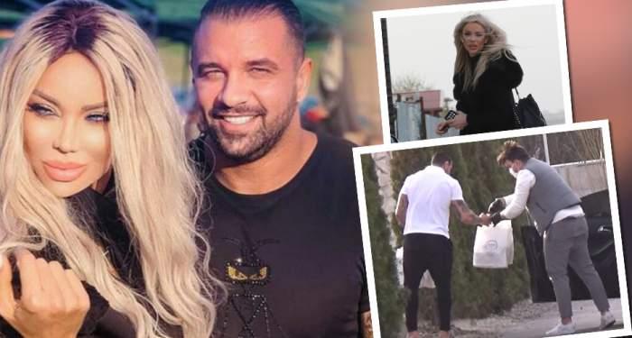 VIDEO PAPARAZZI /Cum o răsfață Bodi pe Bianca Drăgușanu în plină pandemie! Afaceristul a ieșit din locuința de lux în papuci, pentru a-i satisface poftele blondinei. Ce a făcut bomba sexy imediat după