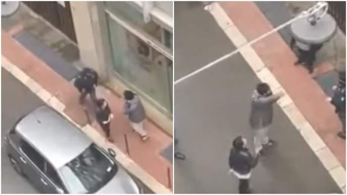 Imagini sfâșietoare în Italia. Oamenii strigă în fața unei bănci că nu mai au bani de mâncare / VIDEO