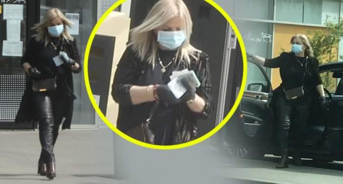 """PAPARAZZI / În plină pandemie, Carmen Șerban are grijă de economiile ei! Cântăreața, echipată pentru """"război"""" cu coronavirusul"""