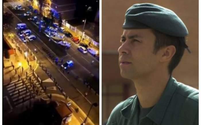 Șeful antiterorism din Garda Civilă din Spania, mort la 48 de ani, din cauza coronavirusului. Omagiul impresionant adus polițistului / VIDEO