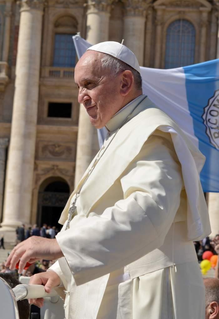 """Mesajul emoționant al Papei Francisc: """"Astăzi este duminica lacrimilor"""""""