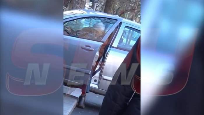 VIDEO PAPARAZZI / Şi-a pus viaţa în pericol! Horia Moculescu, slalom printre maşini. Ce a făcut compozitorul în plină stradă