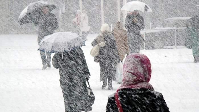 Anunț ANM! Frig în toate zonele țării. În ce județe va ninge