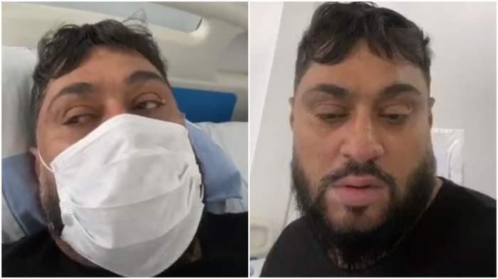 """Eduard, românul bolnav de coronavirus care a făcut live din ambulanță, s-a autodeclarat vindecat: """"Tăiați porcul!"""""""
