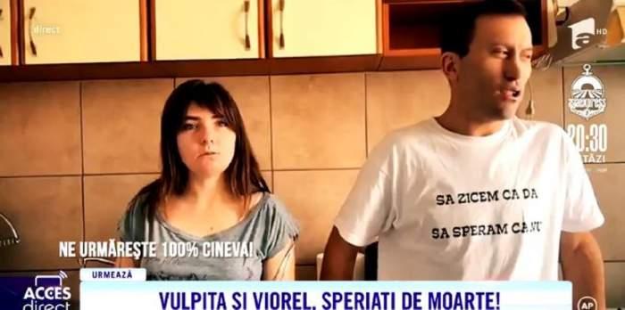 """VIDEO / Veronica și Viorel, speriați de moarte. Soții Stegaru susțin că sunt urmăriți de mai mulți indivizi: """"Ne e frică să mai ieșim singuri"""""""