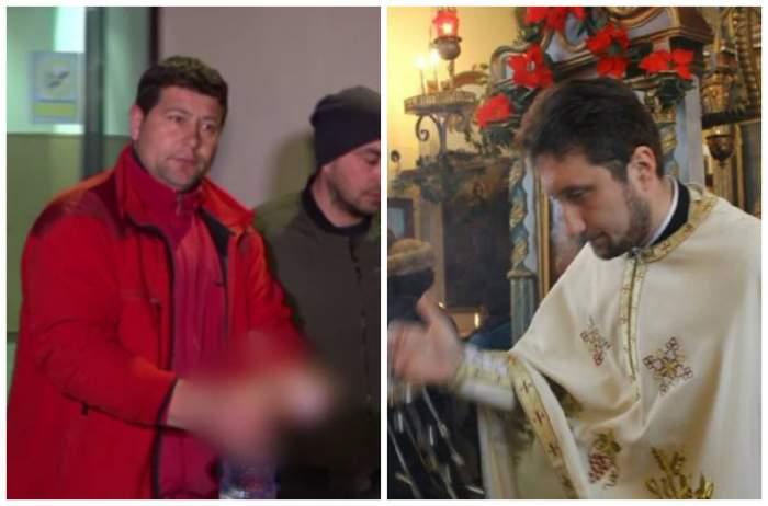 """Un preot îl felicită pe """"criminalul lui Petrișor"""" și spune că familia băiatului """"se dă la televizor plângând"""". Oamenii sunt revoltați"""