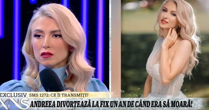 """VIDEO / Andreea Bălan a plâns pentru prima dată, la o săptămână după ce George a plecat de acasă! """"Am ţinut în mine, de-aceea am slăbit aşa mult"""""""